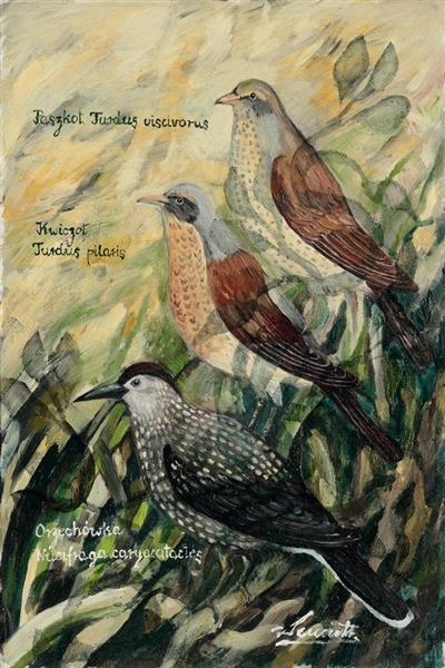 Birds VIII - Małgorzata Serwatka