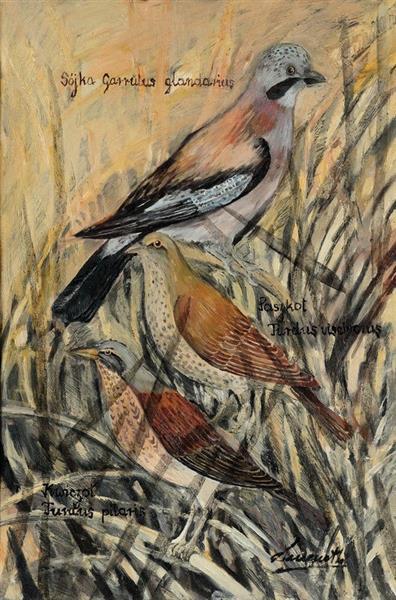 Birds IV - Małgorzata Serwatka