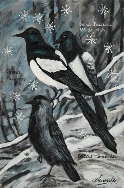 Birds V - Małgorzata Serwatka