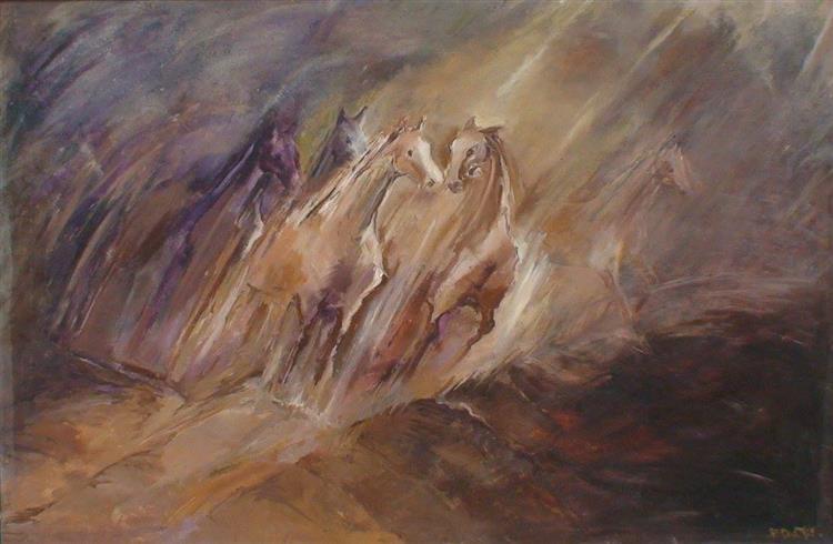 Horses - Duststorm - Małgorzata Serwatka