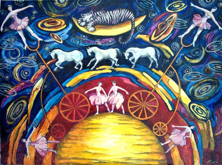 Circus - sun II - Małgorzata Serwatka