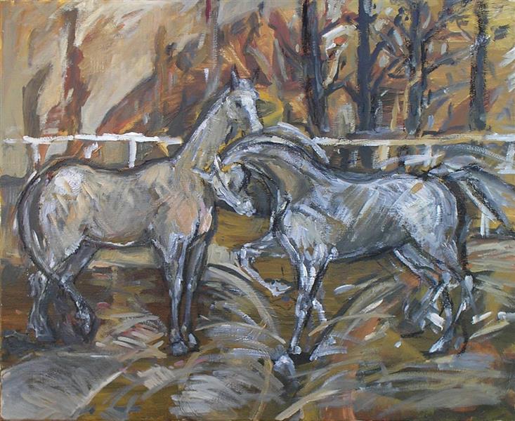 Horses - autumn - Małgorzata Serwatka