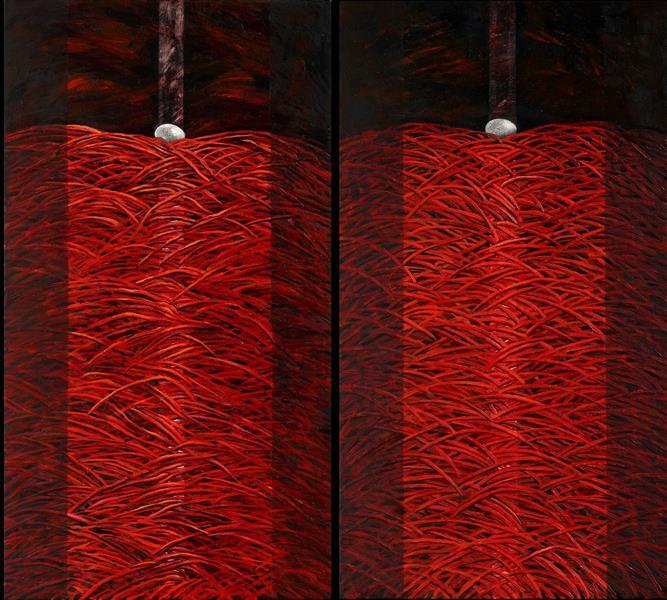 Red - Diptych - Małgorzata Serwatka