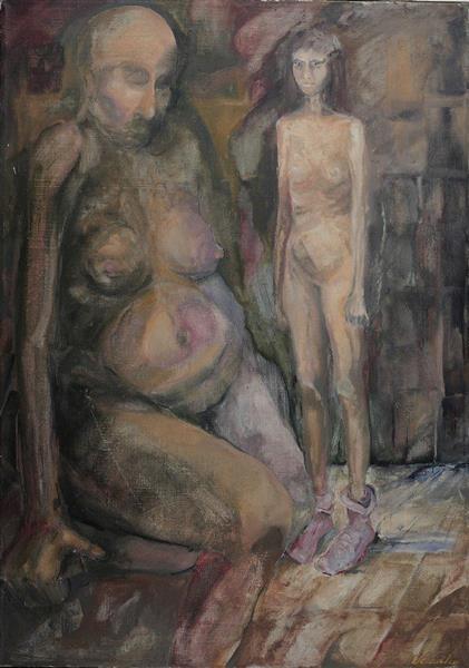Girl in socks - Małgorzata Serwatka