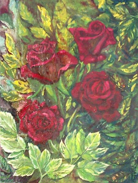 Roses V - Małgorzata Serwatka