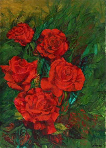 Roses I - Małgorzata Serwatka