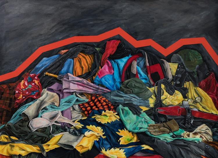 War: Rugs, c.2018 - Małgorzata Serwatka