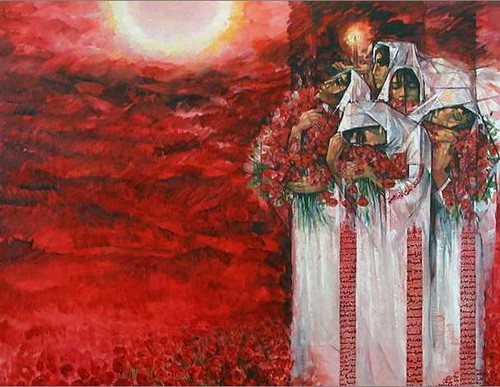Homage to the Martyrs, 1997 - 2000 - Ismail Shammout