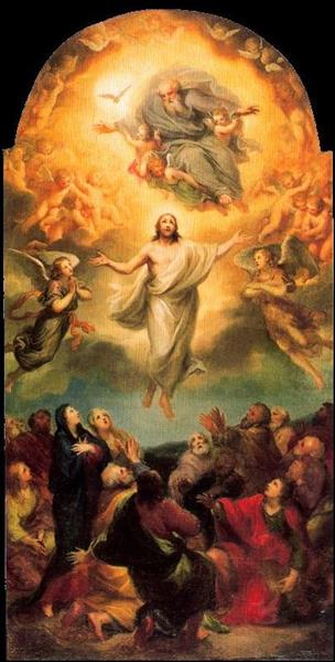 Ascension of Christ - Anton Raphael Mengs