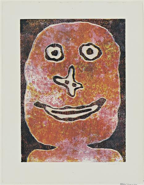 Smile, 1962 - Jean Dubuffet