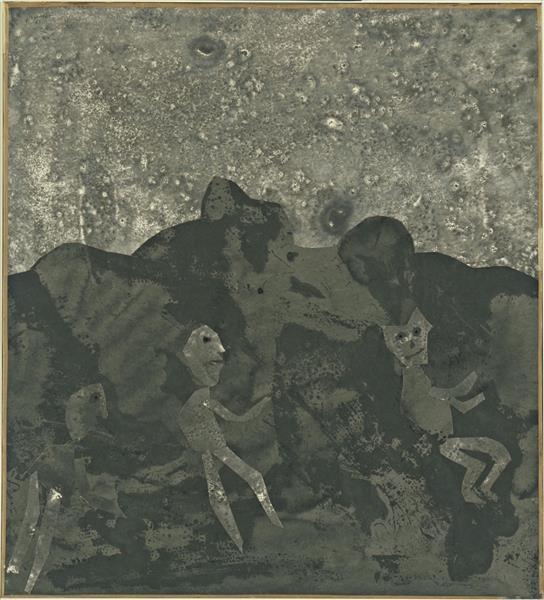Black Earth, 1955 - Jean Dubuffet