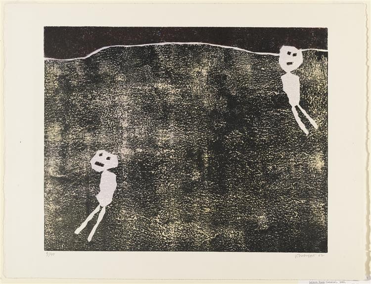 Leisure Time, 1961 - Жан Дюбюффе