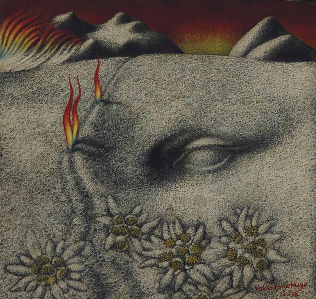 Paysage Surréaliste, 1938 - Valentine Hugo