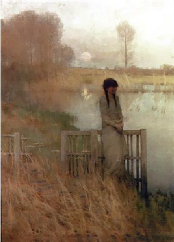 Rêverie, 1882 - Frank O'Meara