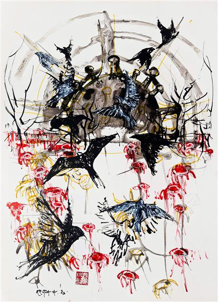 Easter Morning Sun 2020 (COVID-19 artwork no.3), 2020 - Alfred Krupa