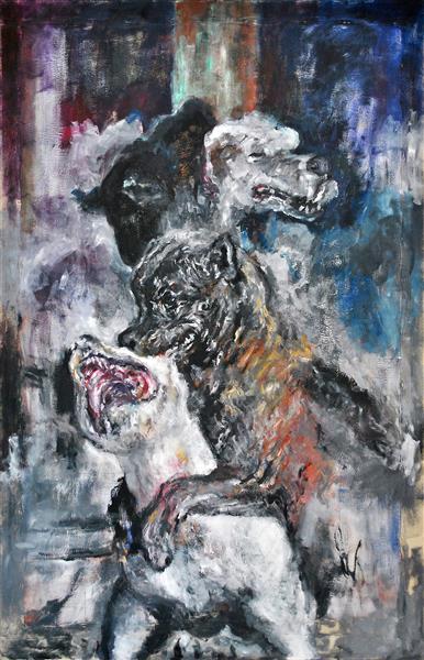 Dogs II, 2007 - Carmen Delaco