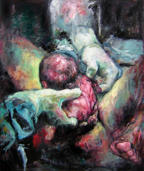 Birth I, 2006 - Carmen Delaco