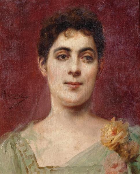 Francisca Aparicio Y Mérida, Marquesa Consorte De Vistabella, 1889 - Francesc Masriera