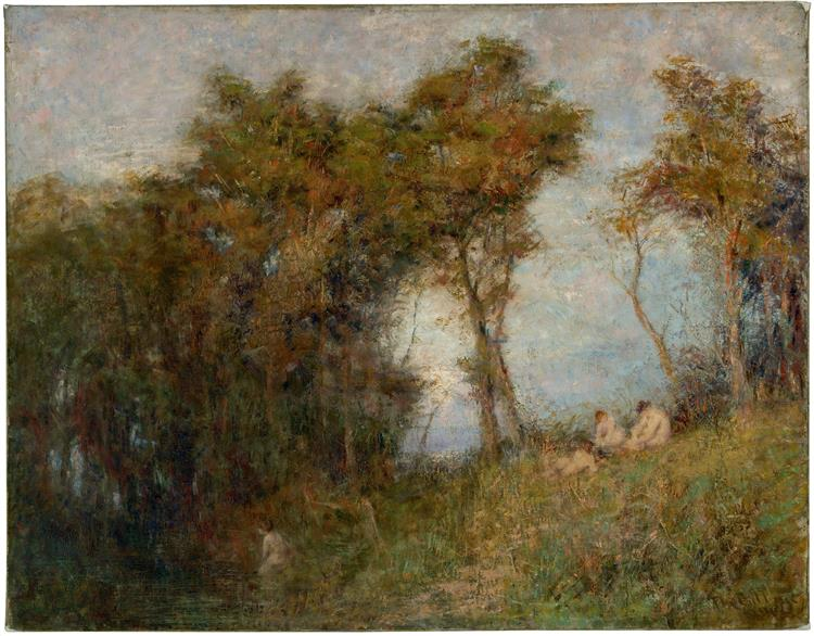 Afterglow (Summer Evening), 1912 - Frederick McCubbin