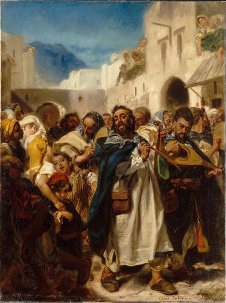 Fête Juive À Tétouan (jewish Festival in Tetuan), 1865 - Alfred Dehodencq