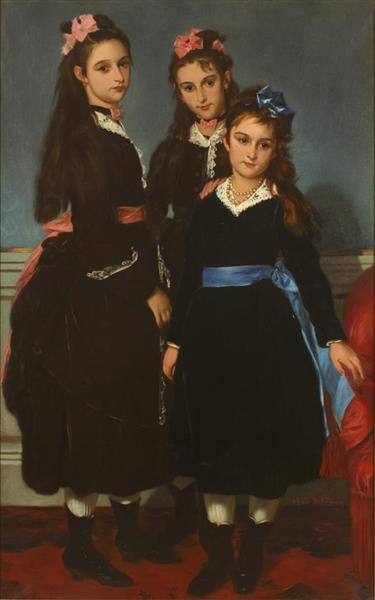 Las Hijas Del Duque De Montpensier - Alfred Dehodencq