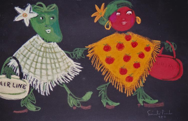 Pepper and Tomato, 1986 - Piroska Szanto