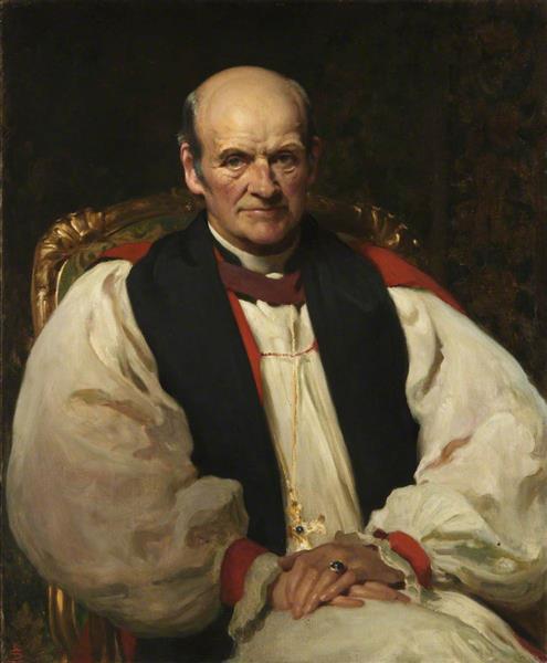 Alfred George Edwards, Archbishop of Wales, 1924 - Solomon Joseph Solomon