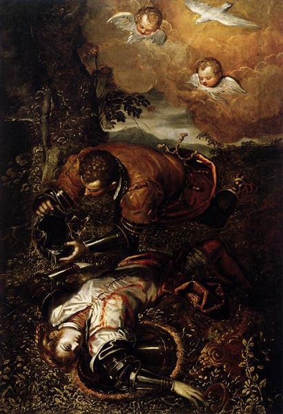 Tancredi Tauft Clorinda - Domenico Tintoretto