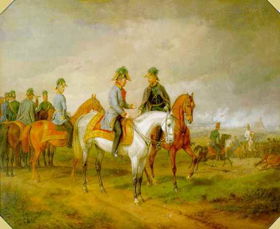 The Battle of Novara, 1858 - Albrecht Adam