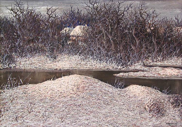 First Snow, 1986 - Ivan Marchuk