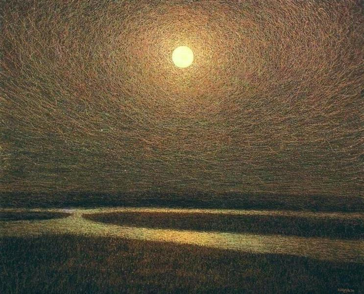 Night in the Steppe, 1983 - Ivan Marchuk