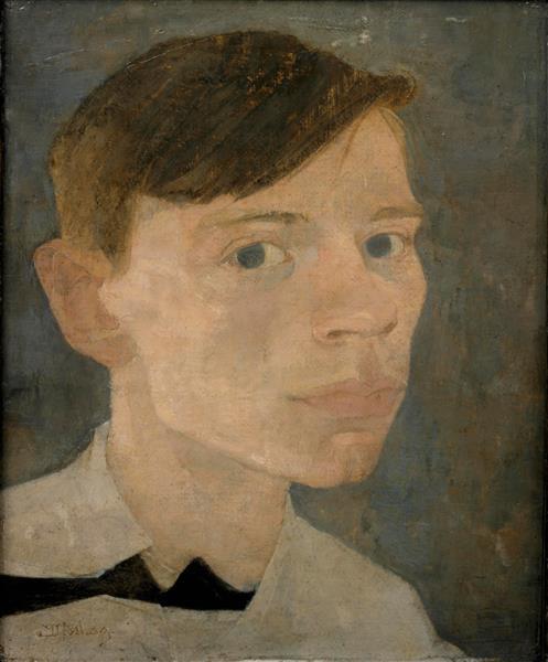 Self-portrait, 1909 - Jan Mankes