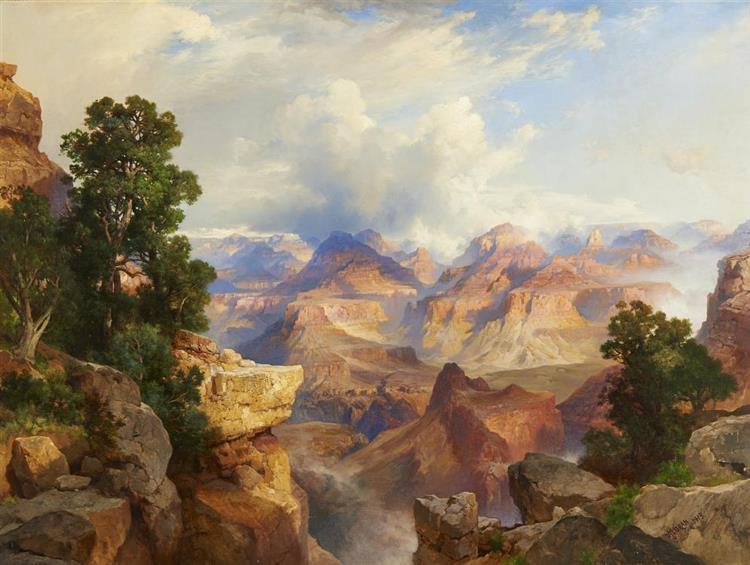 The Grand Canyon, 1913 - Thomas Moran