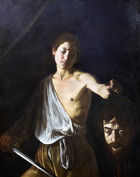 David with the Head of Goliath, 1610 - Caravaggio
