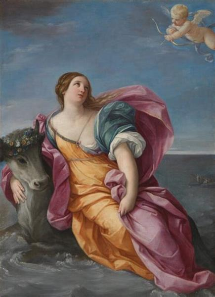 The Abduction of Europa, 1637 - 1639 - Гвидо Рени