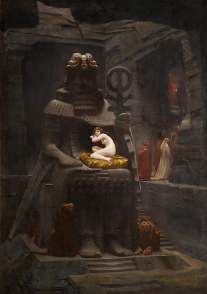 The Fiancee of Belus, 1885 - Henri-Paul Motte