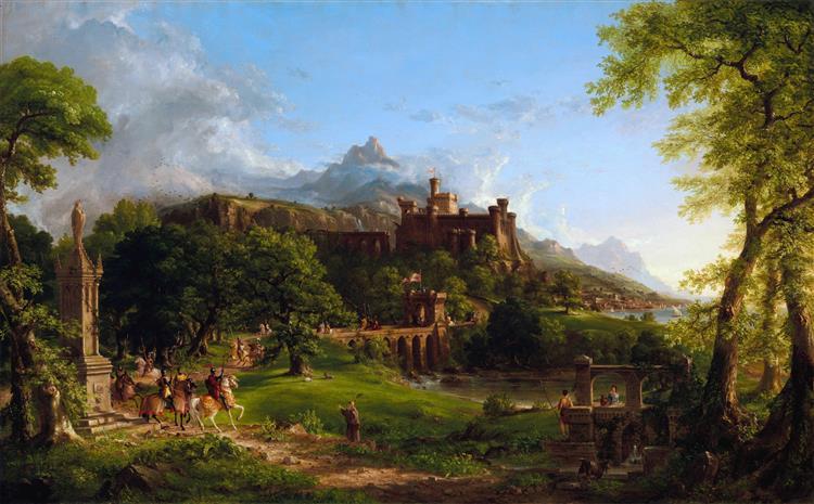 The Departure, 1838 - Thomas Cole