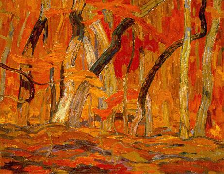 Maple Woods, Algoma, 1920 - Александр Янг Джексон