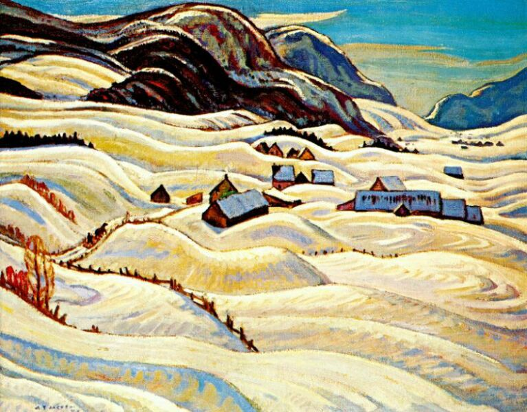 Valley of the Gouffre River, 1933