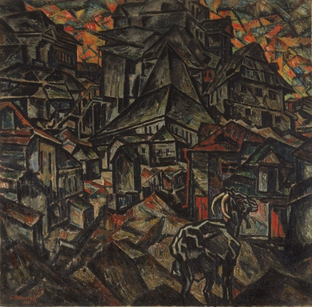 Destruction of the Ghetto, Kiev - Abraham Manievich