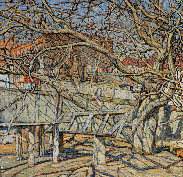 The Spring Sun, 1913 - Abraham Manievich