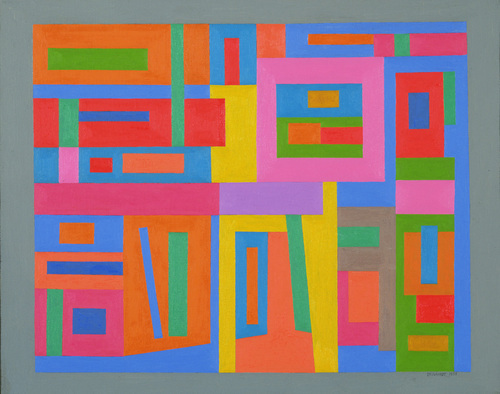 Untitled, 1938 - Ad Reinhardt