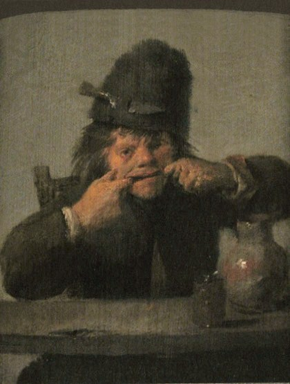 Youth Making a Face, c.1633 - Adriaen Brouwer
