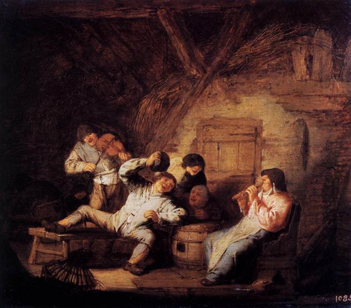 Country Concert, c.1636 - Adriaen van Ostade