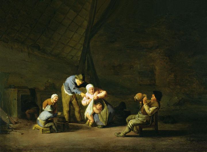 Quarrel, c.1640 - Adriaen van Ostade