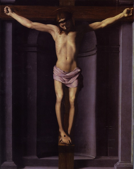 Christ on the Cross - Аньоло Бронзино