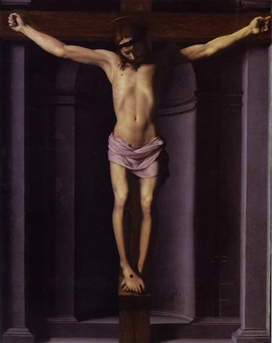Christ on the Cross - Аньоло Бронзино