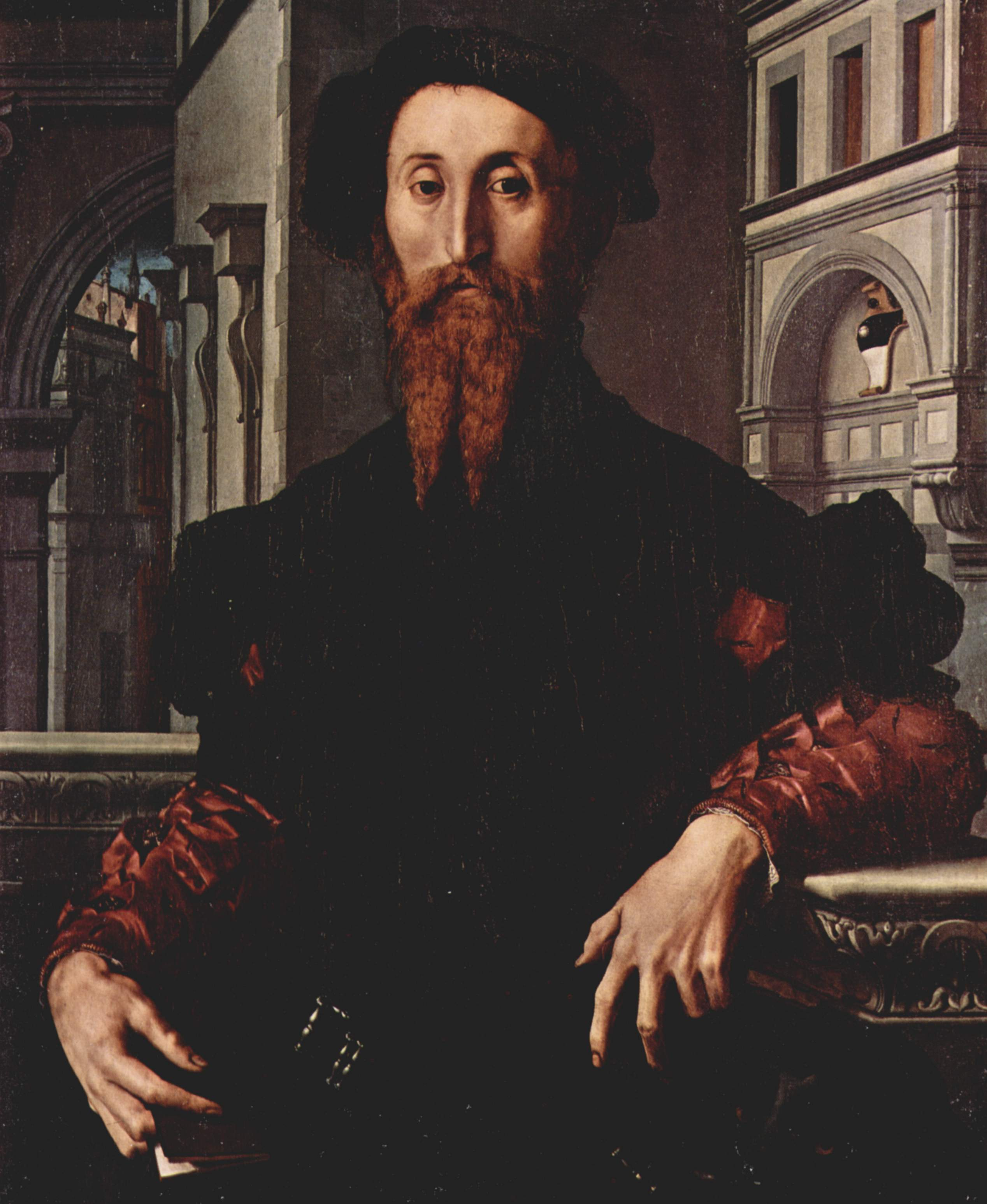 Portrait of Signor Panciatichi Bartolomeo, 1540