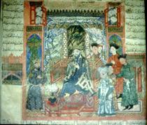 Isfandiyar approaches Gushtasp - Ahmad Musa