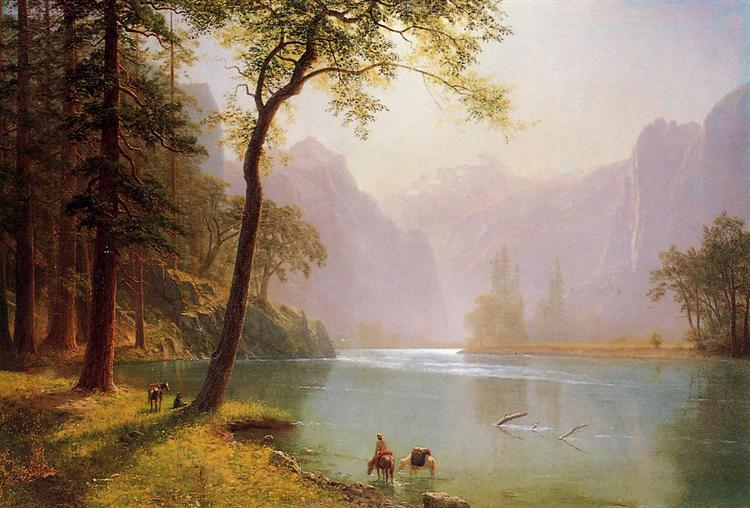 Kern's River Valley, California, 1871 - Albert Bierstadt